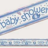 umbrellaphants blue foil banner 12ft long