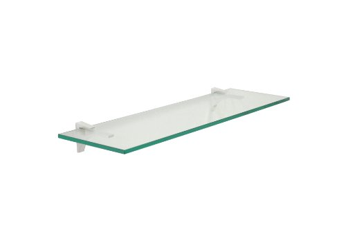 12 inch floating glass shelves - 2