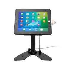CTA Digital PAD-ASKB iPad/iPad Air Dual Security Kiosk Stand with Locking Case & Cable by CTA Digital