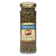 Napoleon Nonpareil Capers Jars (12x3.5Oz ) by Solgar