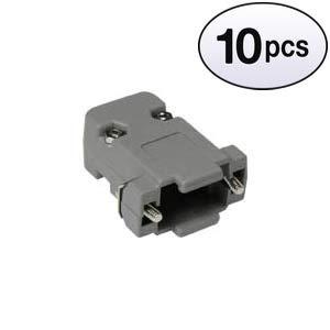 (GOWOS (10 Pack) DB9 Plastic Hoods Screw Type)