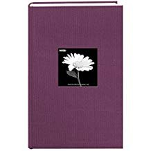 Pioneer Photo Albums. Fabric Frame Cover Photo Album 300 Pockets Hold 4x6 Photos, Wildberry Purple (Limited Edition)