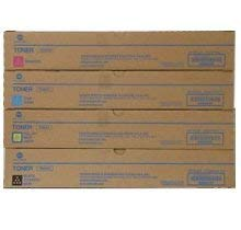 KONICA MINIOLTA TN-324 Laser Toner Cartridge Set Black Cyan Magenta Yellow