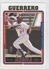 2005 Topps Baseball Card # 150 Vladimir Guerrero Anaheim Angels