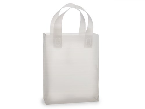 Reusable Frosted Clear Bags - Cub Clear Frosted Plastic Bags Bulk 3 mil Hd Plastic 8x4x10'' (250 Bags Per Pack) - WRAPS-BCFRP by Miller Supply Inc