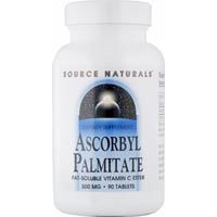 (Ascorbyl Palmitate, (Vitamin C Ester) 45 Tabs by Source Naturals (Pack of 3))