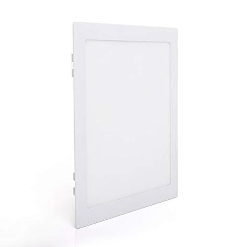 Painel De Embutir Quadrado, 22, 5x22, 5 Cm Dican Branco 22.5 X 22.5 Cm