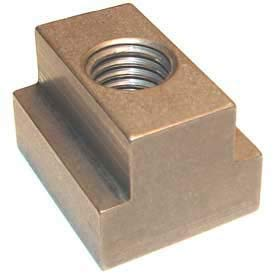 Imported T-Slot Nut 3/8-16 Thread For 1/2'' Table Slot, Heat Treated Steel (Pack of 5)