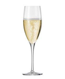 Eisch Breathable Superior Champagne Flutes 9.8oz Set Of 6 by Eisch