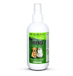 Mercola Natural Flea and Tick Defense for Pets 2 Bottles Spray Format, My Pet Supplies
