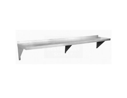 Gusto WS1260 12'' x 60'' Stainless Wall Shelf by Gusto