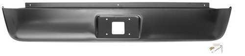 IPCW CWRS-07SI Chevrolet Sierra Steel Fleetside Roll Pan with License Plate Hole and Light