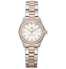 TAG-Heuer-Womens-WAP1452BD0837-Aquaracer-Analog-Display-Swiss-Quartz-Rose-Gold-Watch