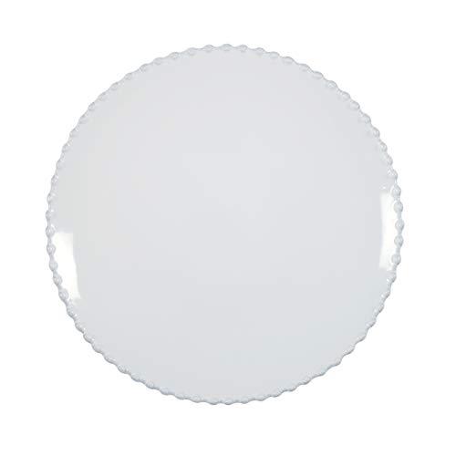 COSTA NOVA Stoneware Ceramic Dish Pearl Collection Dinner Plate, 11.25