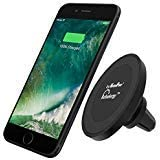 MaximalPower Qi Wireless Car Charger Magnetic Air Vent Mount Holder for New iPhone, Samsung, Google Nexus, LG, BlackBerry Qi Wireless Enabled Compliant Models