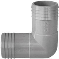 Genova: 1-1/2 Inches Poly Insert Elbow 350715 -2Pk