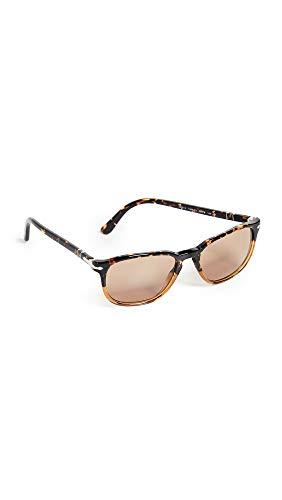 Persol Men's Gradient Tortoise Sunglasses, Tortoise Caramel/Brown, One ()