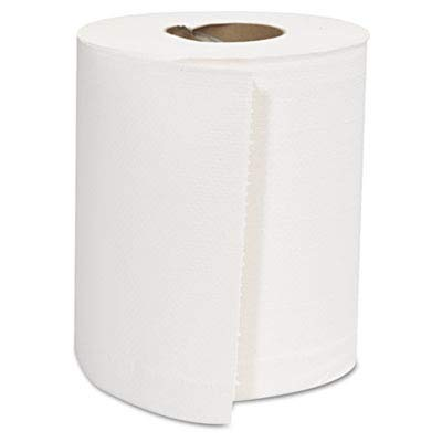 GENCPULL - Center-Pull Roll Towels, 2-ply, White, 8 X 10