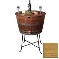 Bistro Barrel Cooler - Made from Wine Barrels (Caramel Finish) ()