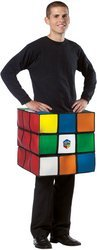 Rubik's Cube Costume Men's Large/XL ()