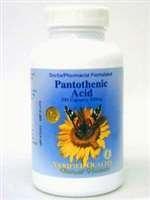 Verified Quality- Pantothenic Acid 500 mg 100 caps