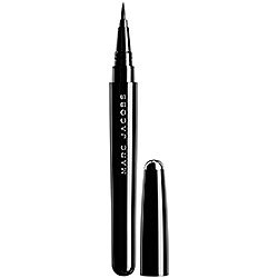 Marc Jacobs Beauty Magic Marc'er Waterproof Liquid Eyeliner 0.016 Fl Oz - Blacquer 10 by Marc Jacobs