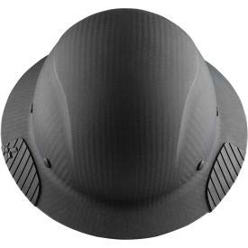 Lift Safety HDC-17KG Dax Carbon Fiber Hard Hat, 6-Point Suspension, Matte Black (HDFM-17KG)