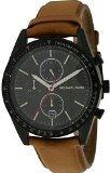 michael-kors-accelerator-chronograph-black-dial-tan-leather-mens-watch-mk8385