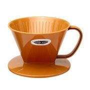 Plastic Coffee Dripper - Brown, used for sale  Delivered anywhere in USA
