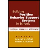 Building Postive Behavior Support System (03) by Phd, Deanne A Crone - PhD, Robert H Horner [Paperback (2003)]