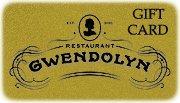 Restaurant Gwendolyn Gift Card ($100)