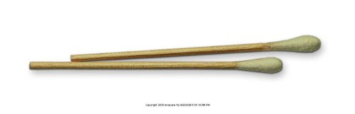 Invacare Cotton Tip Applicators, Ctntip Applic Wood Strl 3in, (1 BOX, 100 EACH)