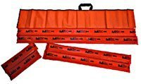 Padded Board Splint Set of 6 with Carry Case ()