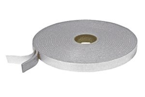 CRL 2'' Adhesive Back Gray Felt Tape by C.R. Laurence