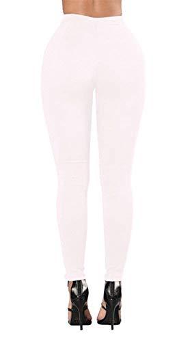 Butt Denim Bandage Pantalones Mujeres Lápiz Pencil Skinny Vaqueros Para Negro Casuales Lift Mujer Bodycon 8UtPUw