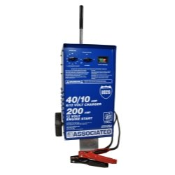 Associated (ASOUS20) Wheel Charger/Analyzer 6/12V 40/40/10 Amps with 200A Boost
