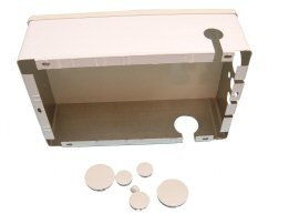 Standard Junction (Junction Box, Standard, Housing & Cover Only, Gray)