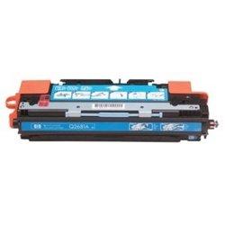 2\PAK QSD Compatible HP Q2681A Compatible Cyan Toner Cart.