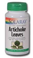 Solaray Artichoke Leaves -- 405 mg - 100 Capsules - 2pc