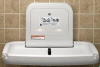 1145865 Baby Changing Station Granite Ea Koala kare Products -KB200-05 by Koala Kare
