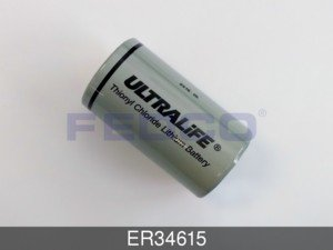 Ultralife ER34615 D Size Lithium Cell for Industrial Applications44; Grey by Ultralife