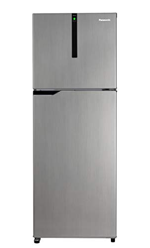 Panasonic 336 L 3 Star Inverter Frost-Free Double-Door Refrigerator (NR-BG341VSS3, Shining Silver) 2021 July Frost-free double-door refrigerator; 336 litres capacity Energy Rating: 3 Star Warranty: 1 year on product, 10 years on compressor