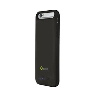 Muvit Power Case Case for Apple iPhone 6/6S, Black