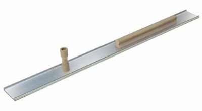 Kraft Tool PL404 Genuine Extra-Lite Single Serrated Magnesium Darby with 1 Knob and 15-Inch Rib Handle, 42-Inch