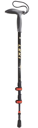 Leki Wanderfreund Speedlock Trekking Pole, Black, Outdoor Stuffs