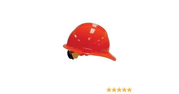 Bullard - Classic C30 - Hard Hat Safety Helmet 6 Point Suspension - Color: 6pt Ratchet Hi-Viz Orange