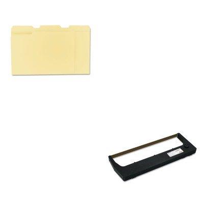 KITPRT255048402UNV12113 - Value Kit - Printronix 255048402 Ribbon (PRT255048402) and Universal File Folders ()