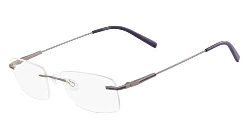 Óculos Airlock Caliber 203 046 Prata Lente Tam 52