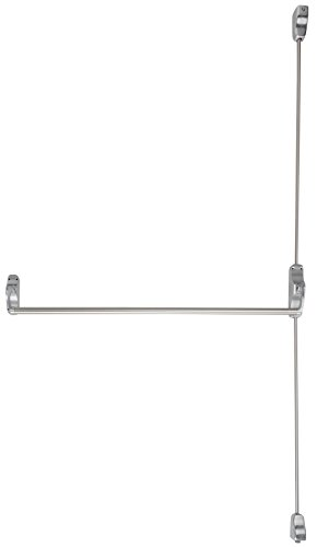 (Von Duprin 8827EO-F US26D RHR Fire-Rated Surface Mounted Vertical Rod Exit Device from The 88 Series, Right Hand Reverse, Satin Chrome Finish)