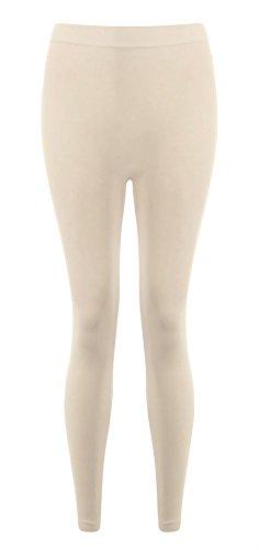 Pantalones tama para liso Un mujeres Negro 21fashion de crema o TwTqxRfAS